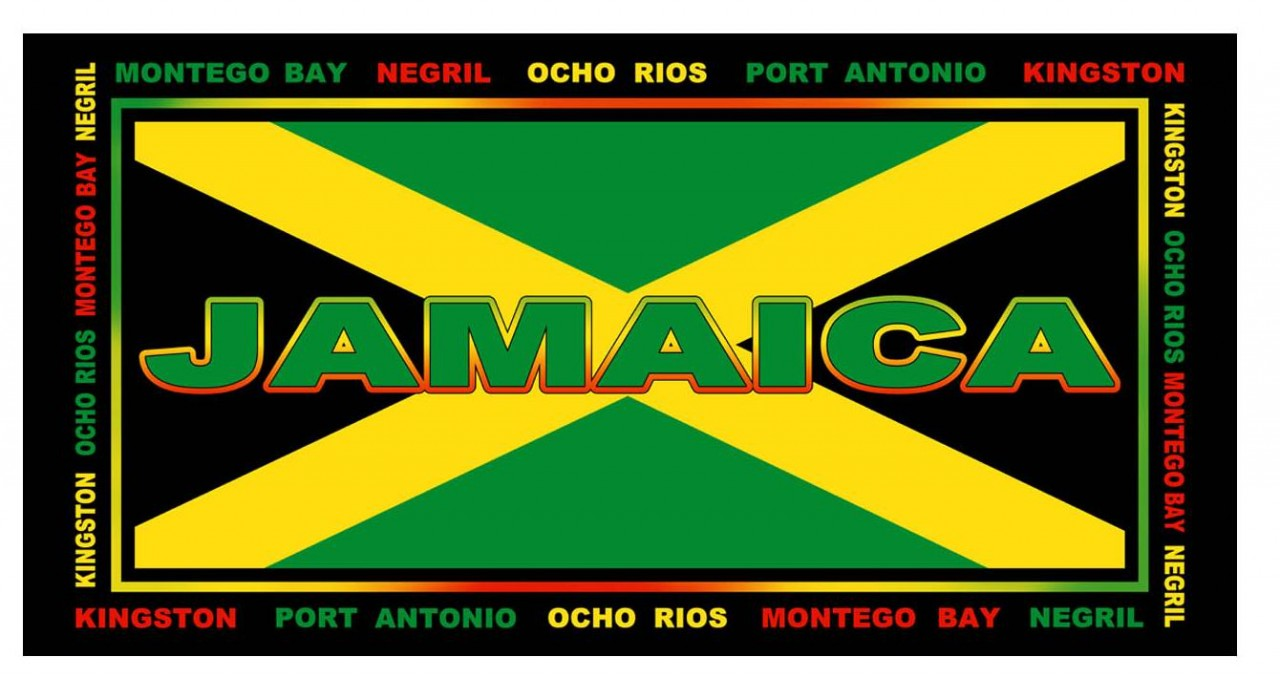 an analysis of jamaican flag The flag of haiti is a bicolour flag featuring two horizontal bands coloured blue and red, defaced by a white panel bearing the coat of arms.
